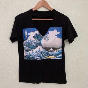 🛍 Japanese Waves T-shirt ✨